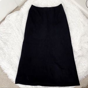 3/25 Old Navy Recycled Wool Maxi Skirt